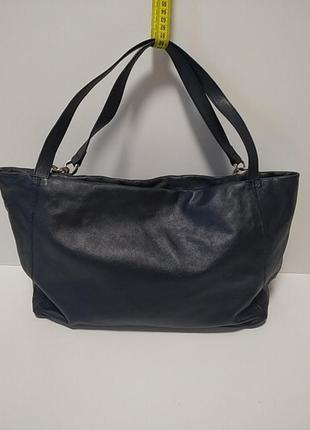 Кожаная сумка. франция2 фото