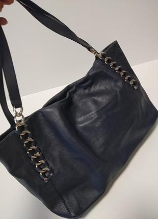 Кожаная сумка. франция4 фото