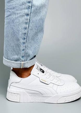 Кроссовки кеды натуральная кожа белый4 фото