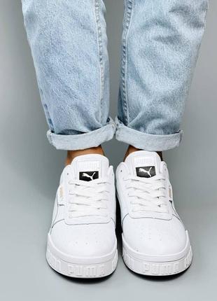 Кроссовки кеды натуральная кожа белый8 фото