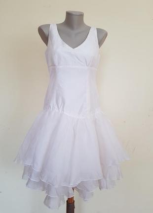 Шикарное премиум класса вечернее коктейльное шёлковое платье  real silk