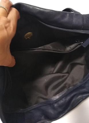 Кожаная сумка. франция10 фото