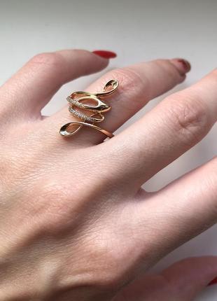 Кольцо(17р) - медицинское золото