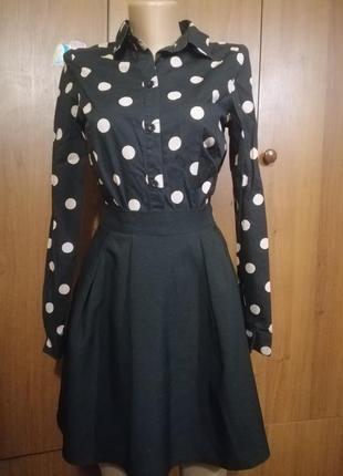 Комплект школьная форма блузка юбка