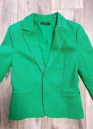 Фирменный яркий пиджак