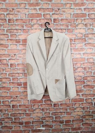 Вельветовый пиджак  с налокотниками giorgio armani