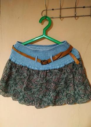 Летняя короткая юбка