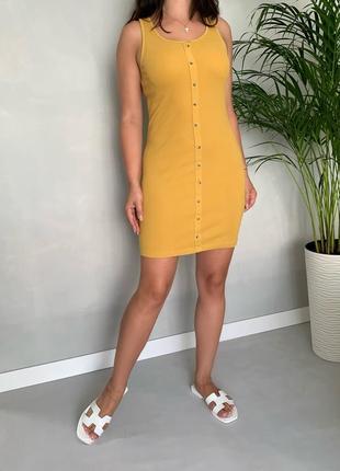 Платье в рубчик базовое new look1 фото