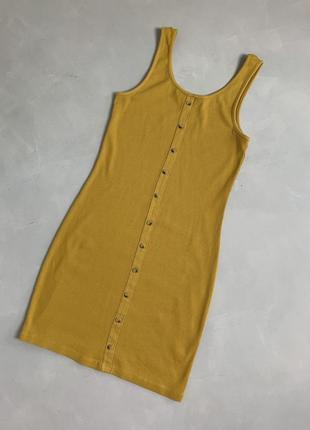 Платье в рубчик базовое new look3 фото