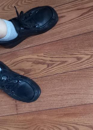 Кожаные туфли мокасины ботинки9 фото