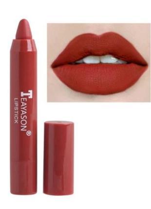 Бархатная матовая помада-карандаш для губ