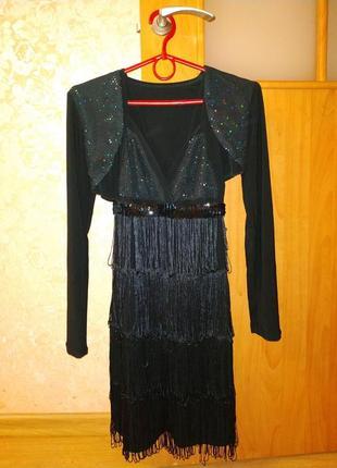 Летнее вечернее платье с болеро