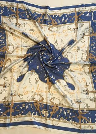 Шелковый платок creation projectif1 фото