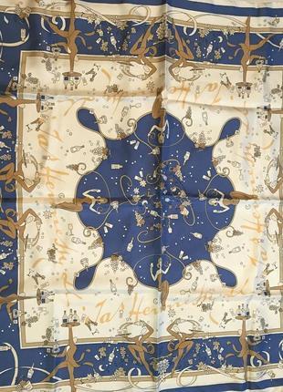 Шелковый платок creation projectif2 фото
