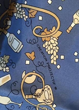 Шелковый платок creation projectif4 фото