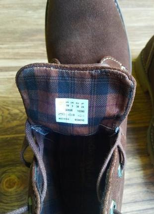 Ботинки timberland earthkeepers atrus chukka. размер 38.4 фото
