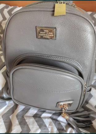Рюкзак из искуственной кожи