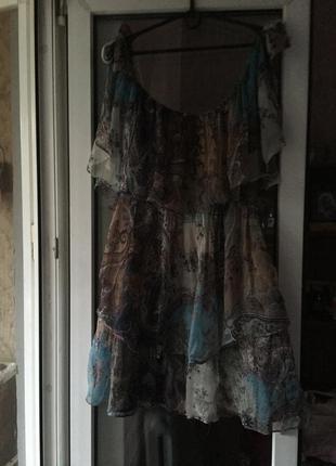 Красивейшее шелковое платье