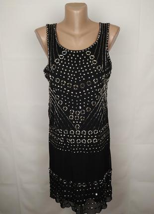 Платье красивое французское m-l