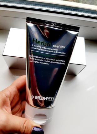 Medi-peel herbal peel tox очищающая маска-пилинг с эффектом детокса