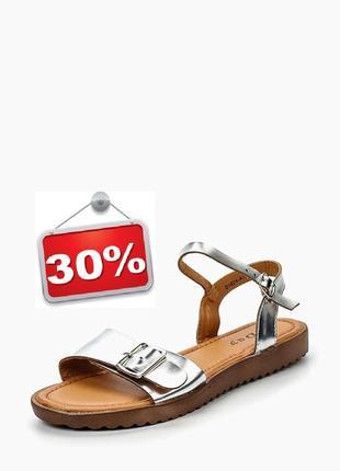Розпродаж!!! ефектні блискучі босоніжки бренду l.day. акція! знижка -30%