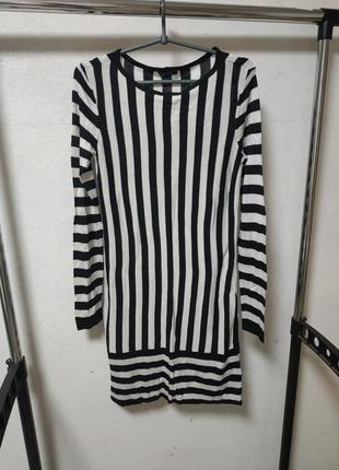 Вязаное платье размер s 36-38*