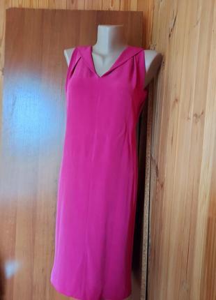Оригинальное шелковое  платье из натурального шелка