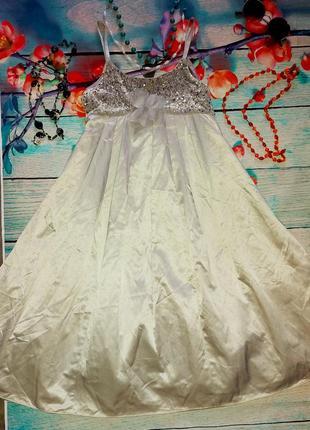 Вечернее платье monsoon на 11-12лет рост 146-152см