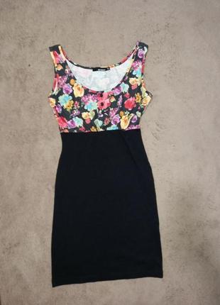 Платье летнее в цветы