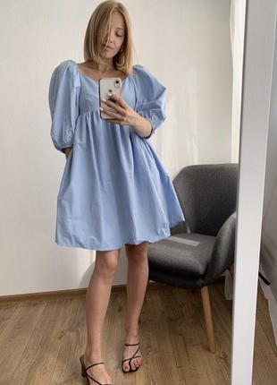 Сукня з воланами zara