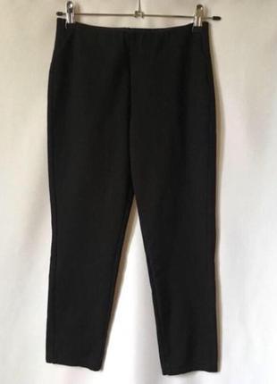 Укороченные брюки черные штаны леггинсы esmara