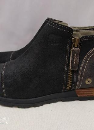 Кожаные ботинки sorel