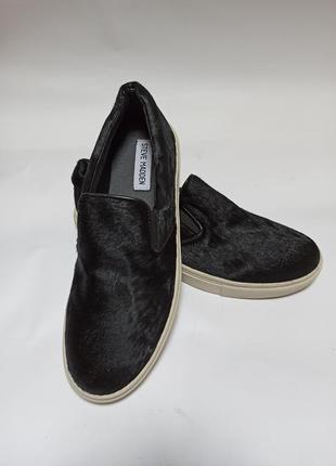 Черные мокасины(балетки). брендове взуття stock