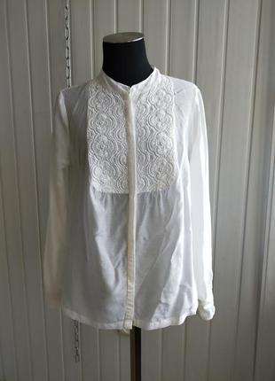 Блуза шёлковая с вышивкой бисером next signature ,s