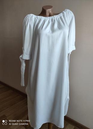 Легкое наплечное платье, туника
