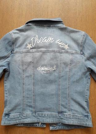 """Піджак джинсовий """"orsay""""  jeans 12/40/48/l."""