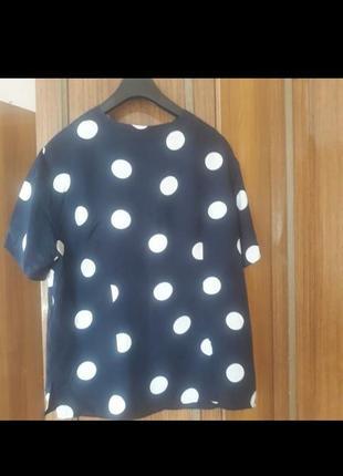 Красива блуза ручної роботи,віскоза