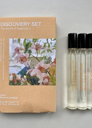 Zara discovery set surround духи/ пробники/ парфуми нова колекція 2021 року