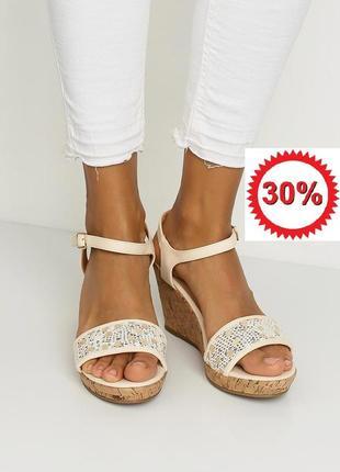 Акція! знижка -30%!! босоніжки бренду renda. останній розмір 40 в наявності! розпродаж!