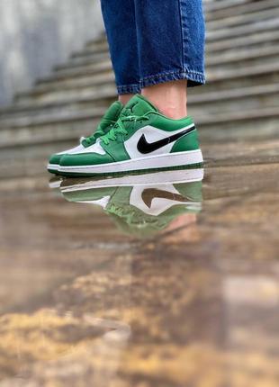 Женские кроссовки nike jordan retro 1 pine green жіночі кросівки