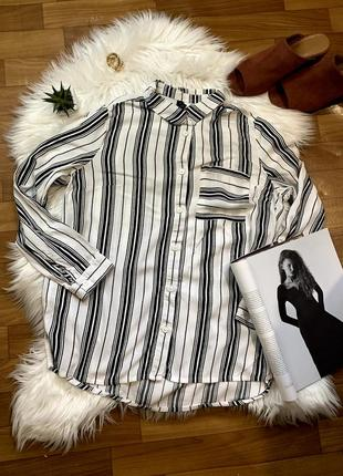 Стильная качественная рубашка 🖤h&m 🖤divaded