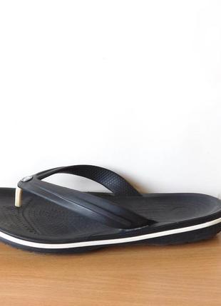 Кроксы вьетнамки бренда crocs m6w8 по стельке 25,5 см.