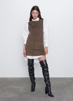 Платье сарафан zara новая коллекция