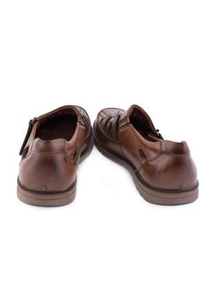 🌿 мужские туфли на липучке4 фото
