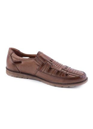 🌿 мужские туфли на липучке3 фото