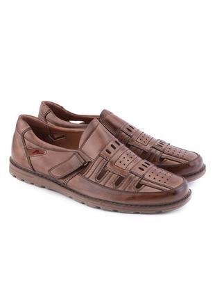 🌿 мужские туфли на липучке2 фото