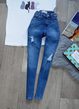 Класні джинси-скіні  mango