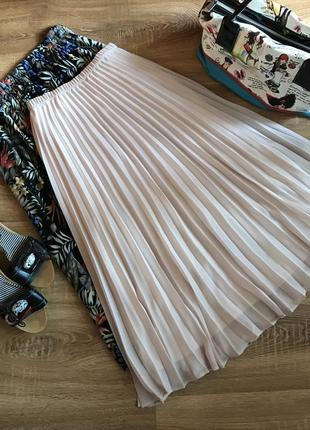 Дуже красива юбка плісеровка шифон