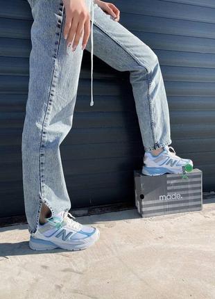 New balance 990 шикарные женские кроссовки нб