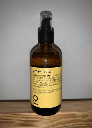 Масло для восстановления волос oway glossi nectar